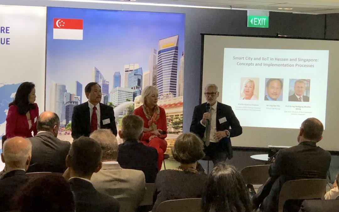Der Software-Cluster und Singapur